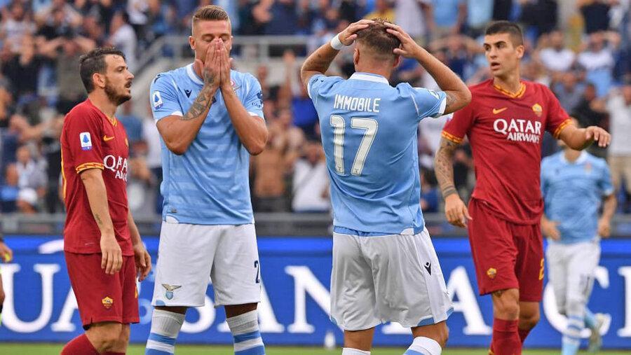 هفته 2 سری A؛ انتها شهرآورد رم با تساوی رم و لاتزیو