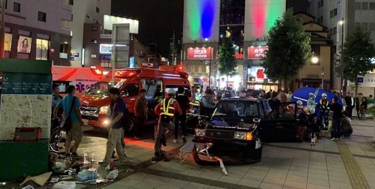 هجوم تاکسی به داخل پیاده رو در ناگویا، حداقل 7 نفر مجروح شدند
