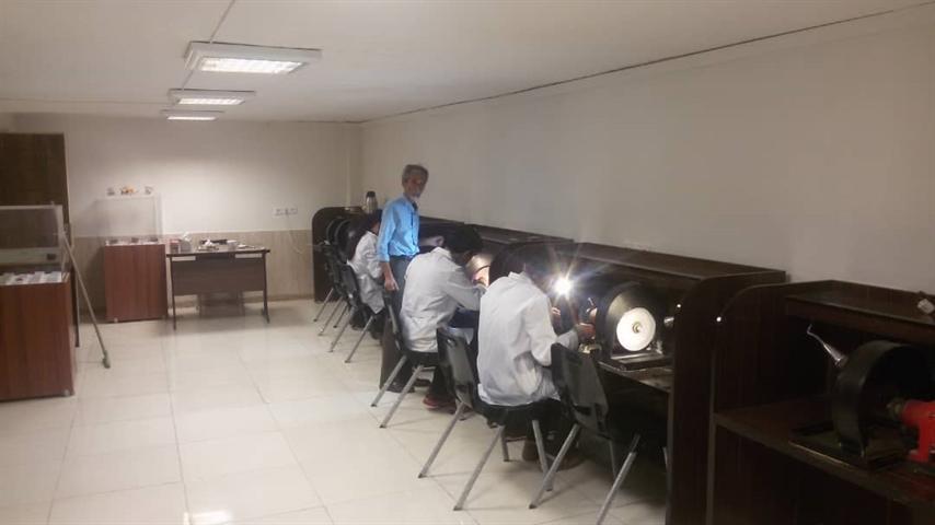 دوره آموزشی دامله تراشی در مشهد برگزار گردید