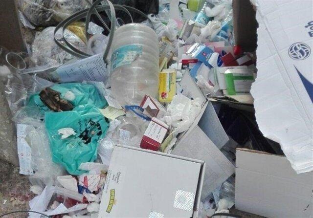 زباله های پزشکی بدون بی خطرسازی دفن می شوند