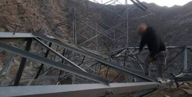 تخریب مجدد خط برق تاجیکستان به افغانستان