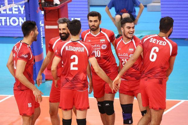 پیروزی ایران برابر شاگردان ولاسکو در لیگ ملت های والیبال