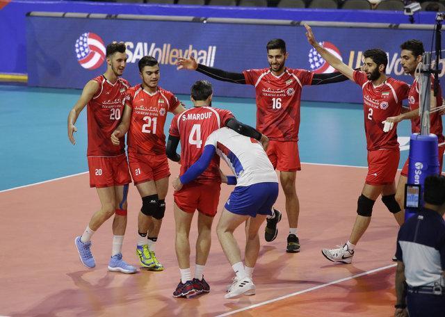 شکست ملیمتری ایران برابر صربستان در ماراتن والیبال