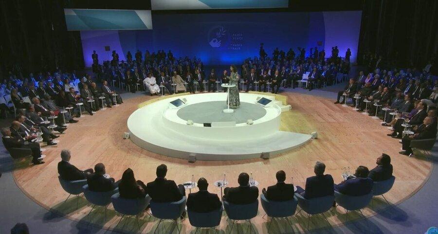 مجمع صلح پاریس با سران 30 کشور گشایش یافت
