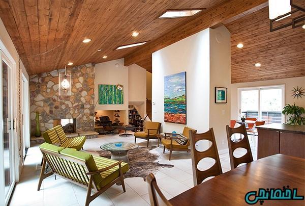 ایده های طراحی داخلی با استفاده از مبلمان چوبی