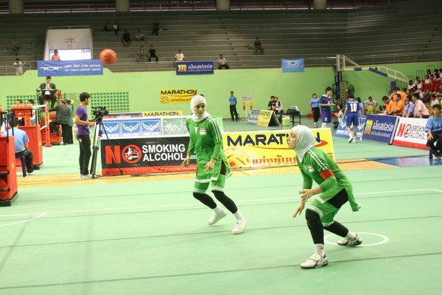 سومی تیم سپک تاکرای بانوان ایران در جام جهانی هند