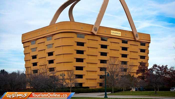 هتلی به شکل سبد میزبان مسافران در سال 2020، عکس