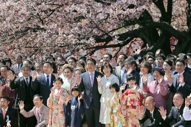 دردسر جدید نخست وزیر ژاپن: مهمانی تماشای شکوفه های گیلاس (