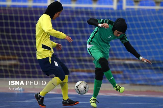 شکست سایپا در بازی حساس لیگ فوتسال بانوان، برتری 13 گله نامی نو در داربی اصفهان