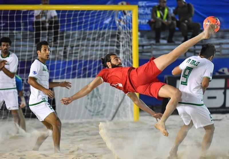 فوتبال ساحلی قهرمانی آسیا، ایران با شکست مقابل عمان، حریف ژاپن شد