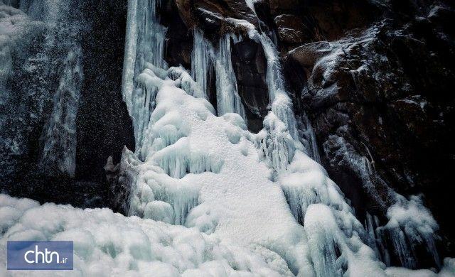 آبشار یخی پریشان سنقر جاذبه گردشگری شد