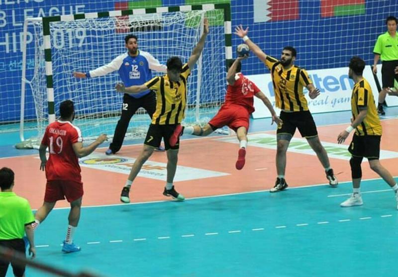 هندبال جام باشگاه های آسیا، شکست سپاهان مقابل نماینده عمان