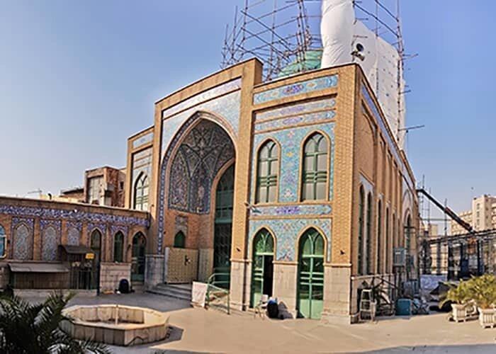 شروع عملیات مقاوم سازی مسجد شیخ فضل الله در تهران