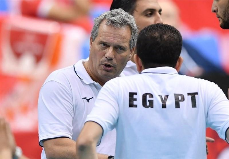 سرمربی تیم ملی والیبال مصر اخراج شد