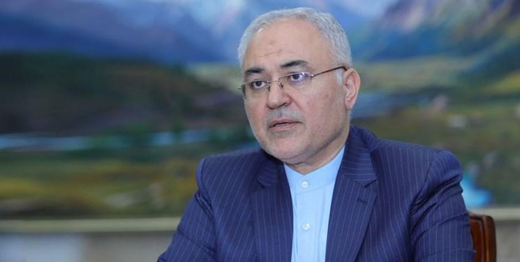 دعوت سفیر ایران در قرقیزستان برای مقابله جهانی با تحریم های یکجانبه آمریکا