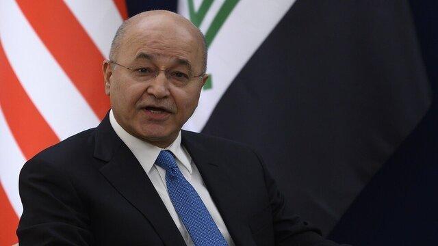 سفر رئیس جمهوری عراق به الانبار