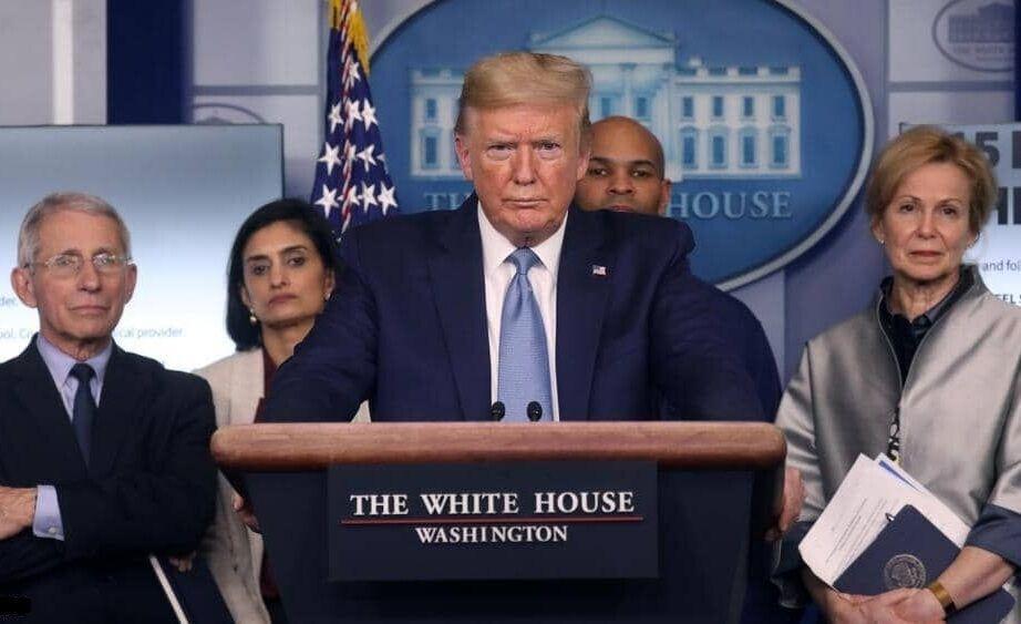 خبرنگاران فرار از بار بحران به شیوه ترامپ؛ انحلال کارگروه مبارزه با کرونا