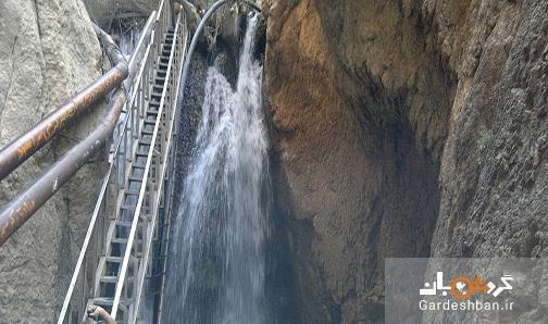 آبشار یاسوج، اصلی ترین جاذبه گردشگری شهر، عکس