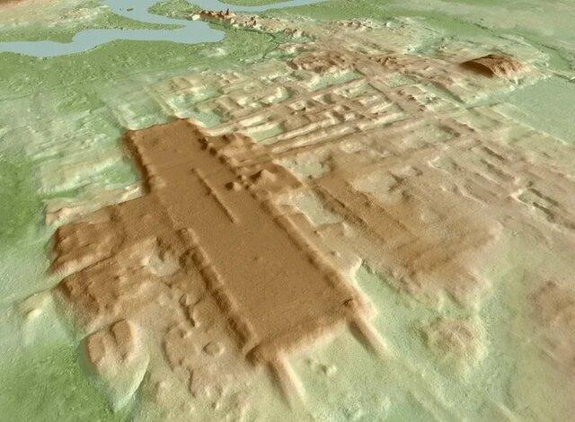 قدیمی ترین و بزرگترین اثر تاریخی تمدن مایا کشف شد