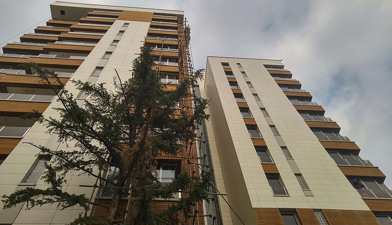 عرضه واحدهای مسکونی نوساز با قیمت جدید
