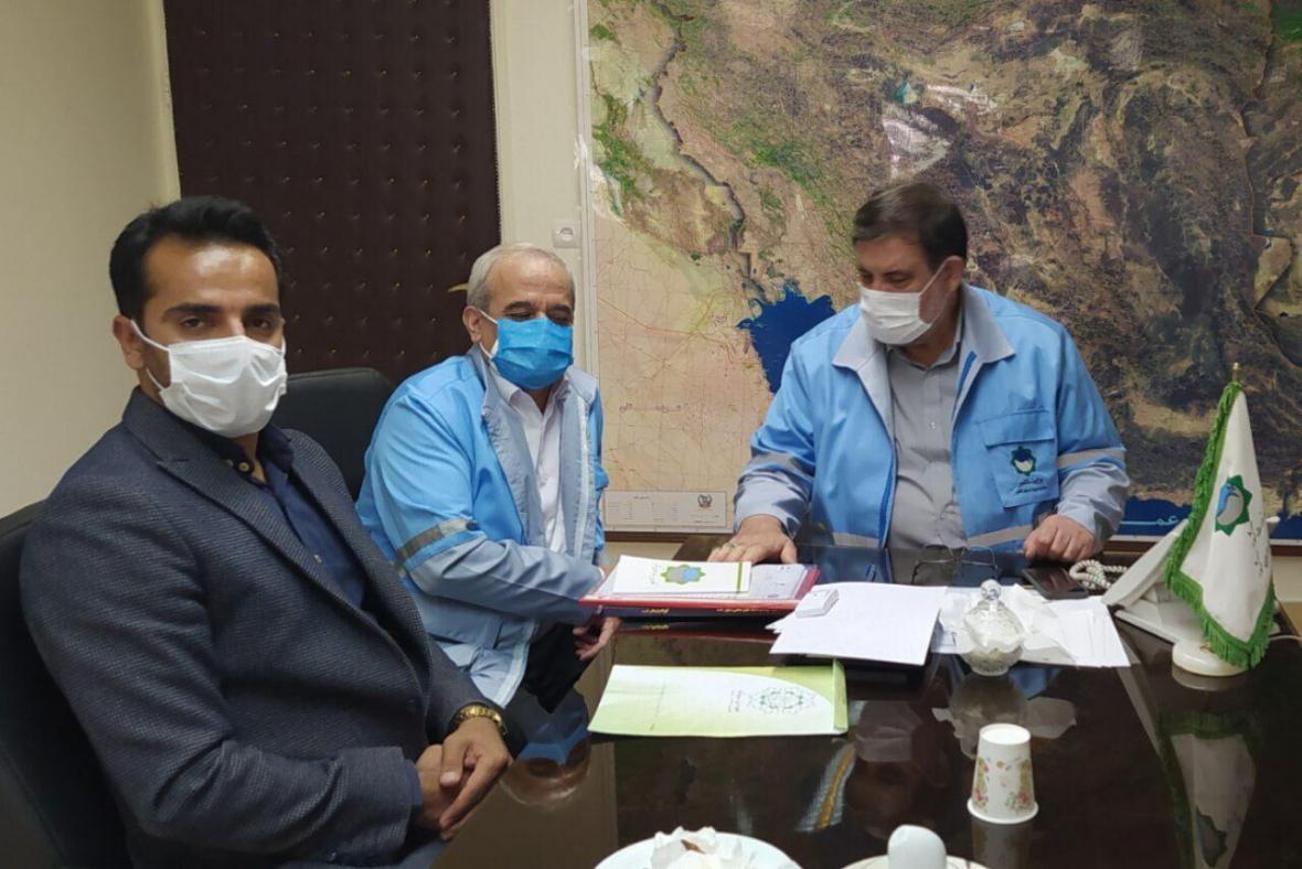 خبرنگاران پروژه های شهرداری سروآباد مورد حمایت سازمان مدیریت بحران کشور است