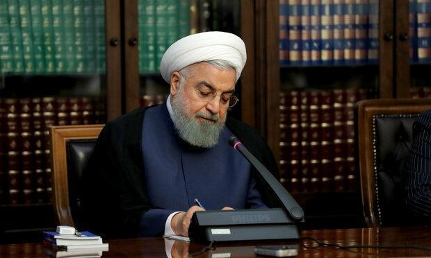 روحانی فرا رسیدن روز ملی اسپانیا را تبریک گفت