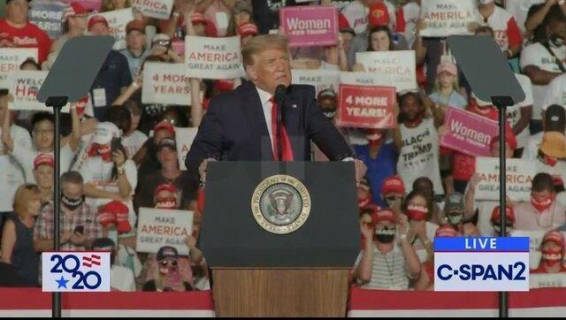 ترامپ از ساکنین پورتوریکو خواست به او رای دهند!