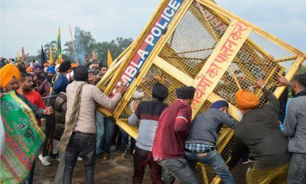 بزرگترین اعتصاب تاریخ هند، دهلی نو محاصره شد