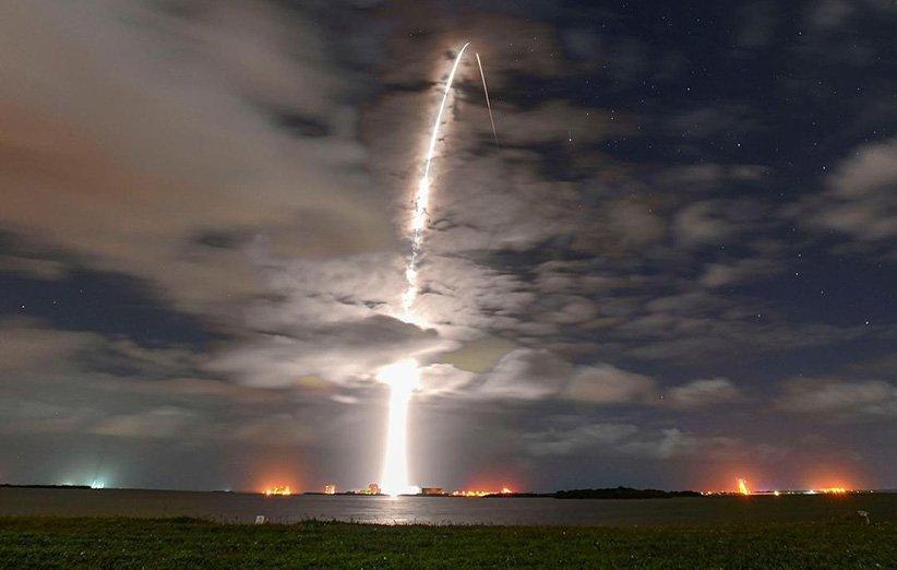 اسپیس ایکس ایلان ماسک صدمین پرتاب موشک فالکون 9 را رقم زد