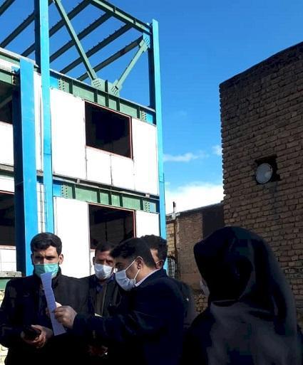توقف ساخت و ساز در حریم قلعه مظفری شهرستان سلسله