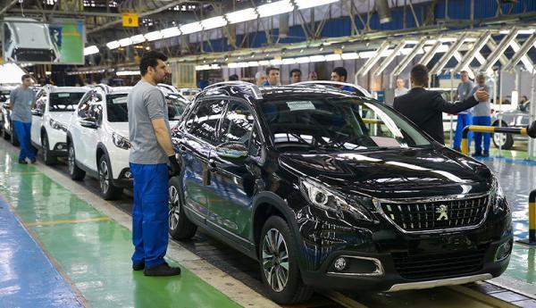فراوری بیش از 730 هزار دستگاه خودرو در 10 ماه نخست سال جاری