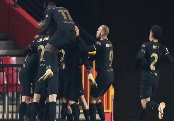 جام حذفی اسپانیا، صعود نفس گیر اما پرگل بارسلونا به مرحله نیمه نهایی با غلبه بر گرانادا