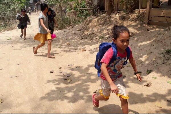 فرار 3000 نفر به تایلند پس از بمباران روستاها توسط ارتش میانمار