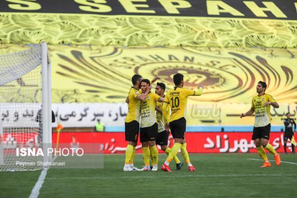 صعود سخت سپاهان به یک هشتم نهایی جام حذفی