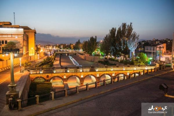 پل قاری یا قاری کورپوسی؛ پل تاریخی و زیبای تبریز، عکس