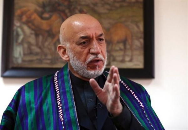 کرزی: پیوستن طالبان به دولت کنونی بهترین راه برای صلح است