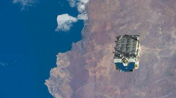 عظیم ترین زباله فضایی تخلیه شده از ایستگاه فضایی