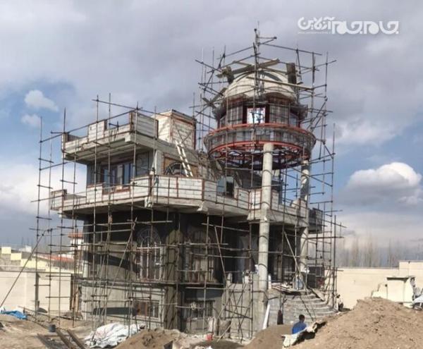 قلع و قمع ویلای مجلل 25 میلیاردی در تبریز