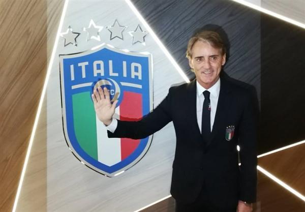 تمدید قرارداد مانچینی با فدراسیون فوتبال ایتالیا، مانچو تا 2026 سرمربی آتزوری می ماند