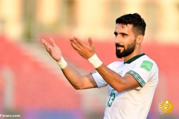 ستاره فوتبال عراق بازی با ایران را از دست داد؟