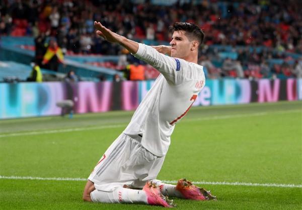 یورو 2020، موراتا برترین گلزن اسپانیا در اروپا شد