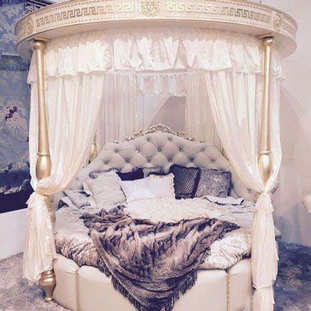 تخت خواب های دخترانه زیبا با طراحی تازه