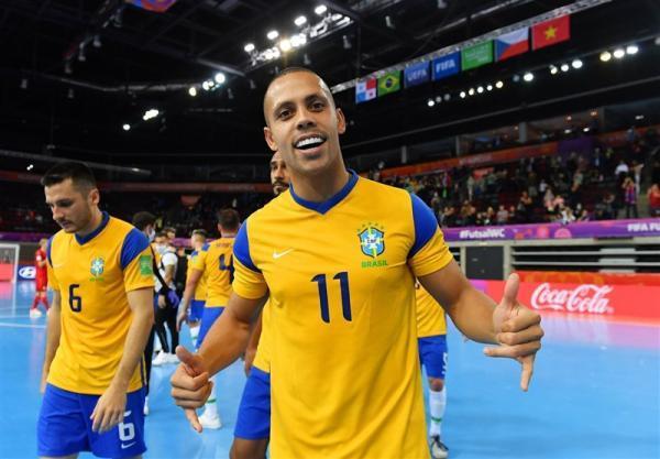 تور برزیل: جام جهانی فوتسال، ستاره برزیل آقای گل شد، رونمایی از 3 بازیکن برتر مسابقات